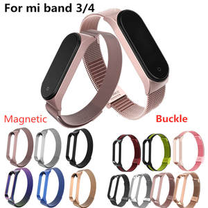 Mi-Band Correa Metal 4-Strap Xiomi 4-Bracelet 3 for Screwless