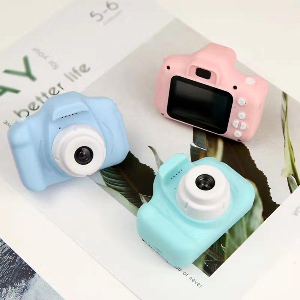 1080P HD Screen Children's Digital Camera with 8g Memory Card Photo Video Cute Camera Multifunctional Children Gifts Mini Camera