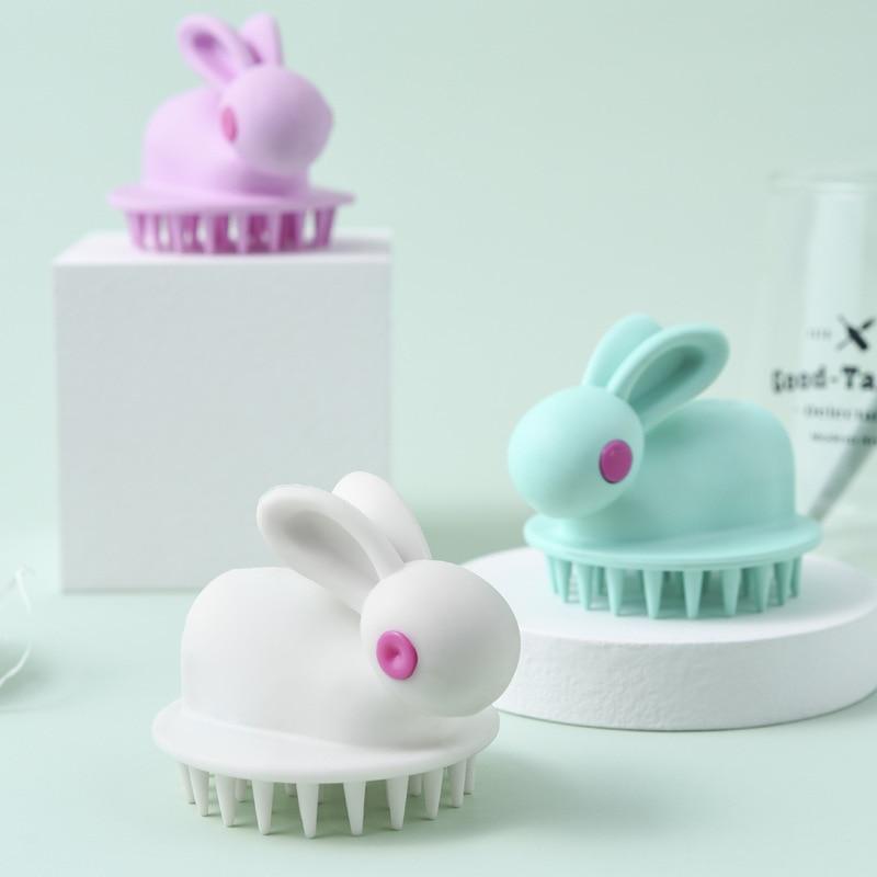 Baby Bath Tool Soft Glue Shampoo Brush Scalp Massage Brush Children Shampoo Comb Adult Shampoo Massager Hair Combing Beauty Tool