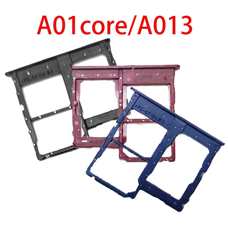 For Samsung Galaxy A013 A01C A01core Sim Card Slot Tray Holder Sim Card Reader Socket