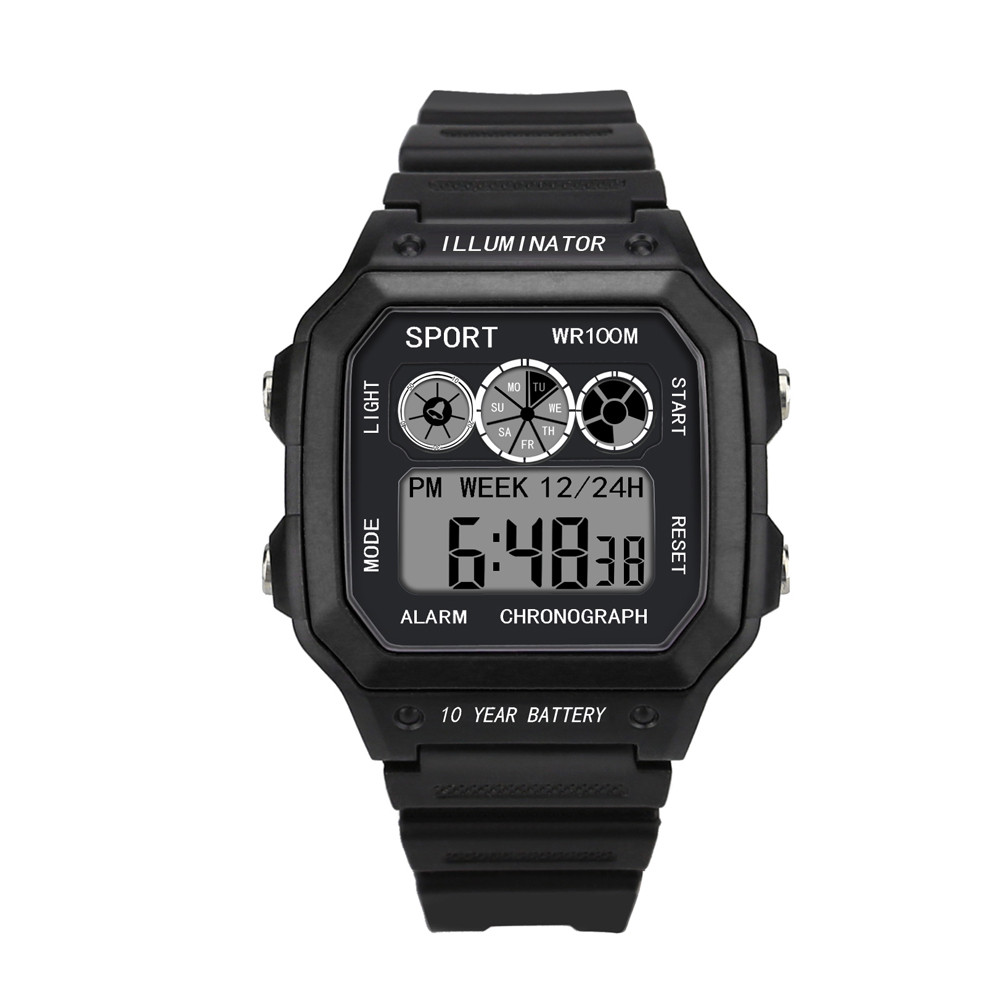 Military Men Watches LED Digital Sports Multifunction Electronic Relogio Masculino montre homme