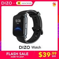 Realme Techlife DIZO Smart Uhr Blut Sauerstoff & Herz Rate Monitor 90 Sport Modi 12-Tag Batterie Lebensdauer IP68 wasserdicht