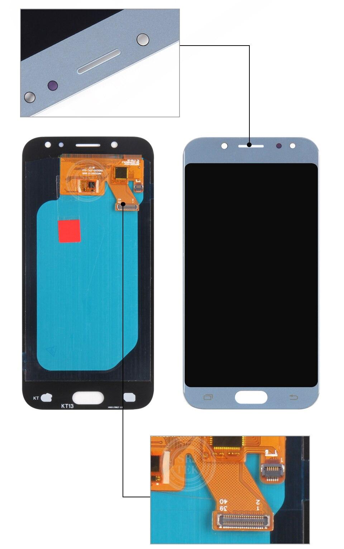 Ha8989fa10f5140ee8b53fdaac767465bF AMOLED/TFT J530F LCD Screen For Samsung GALAXY J5 2017 Display J530 LCD SM-J530F Display Touch Digitizer Glass J5 2017 LCD