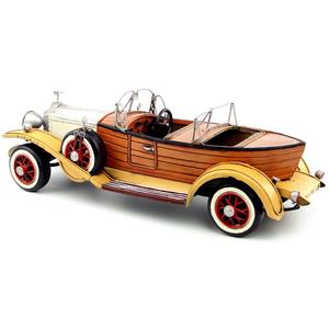 Image 2 - Antique classical British car model retro vintage wrought  metal crafts for home/pub/cafe decoration or birthday gift
