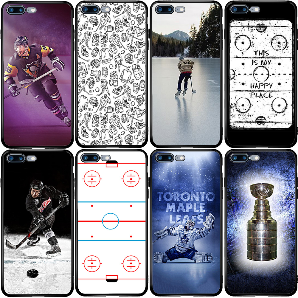 Play Ice Hockey Cover Case For Huawei Honor Mate 9 10 20 30 P Smart Y5 Y6 Y7 Y9 P10 P20 P30 P40 Lite Pro 2018 2019