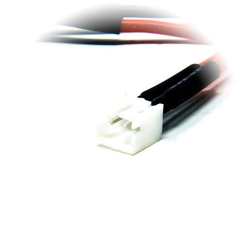 URUAV <font><b>2S</b></font> PH2.0 Pigtail Solid Pin 20AWG 100mm Solering Power Cable <font><b>Wire</b></font> for TRASHCAN Mobula7 Whoop FPV Racing Drone image