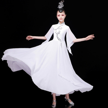 Flamenco Dress Women Chiffon Gypsy Dresses Opening Dance Outfit Classical Dance Wears Lyrical Dance Clothes Stage Costume