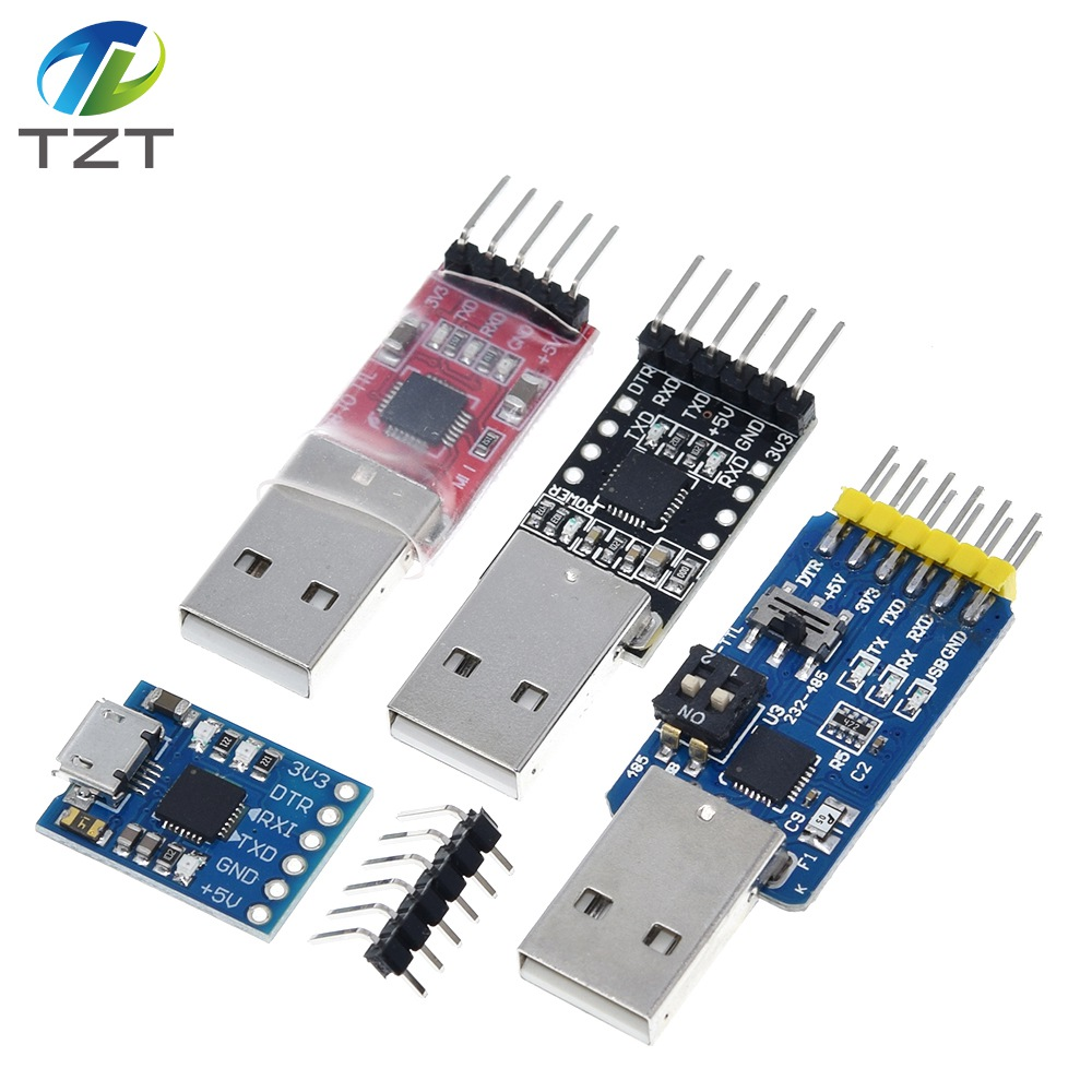 1pc CP2102 Module USB to TTL Serial Converter UART STC Download 5pcs Cable/_ma/_sg