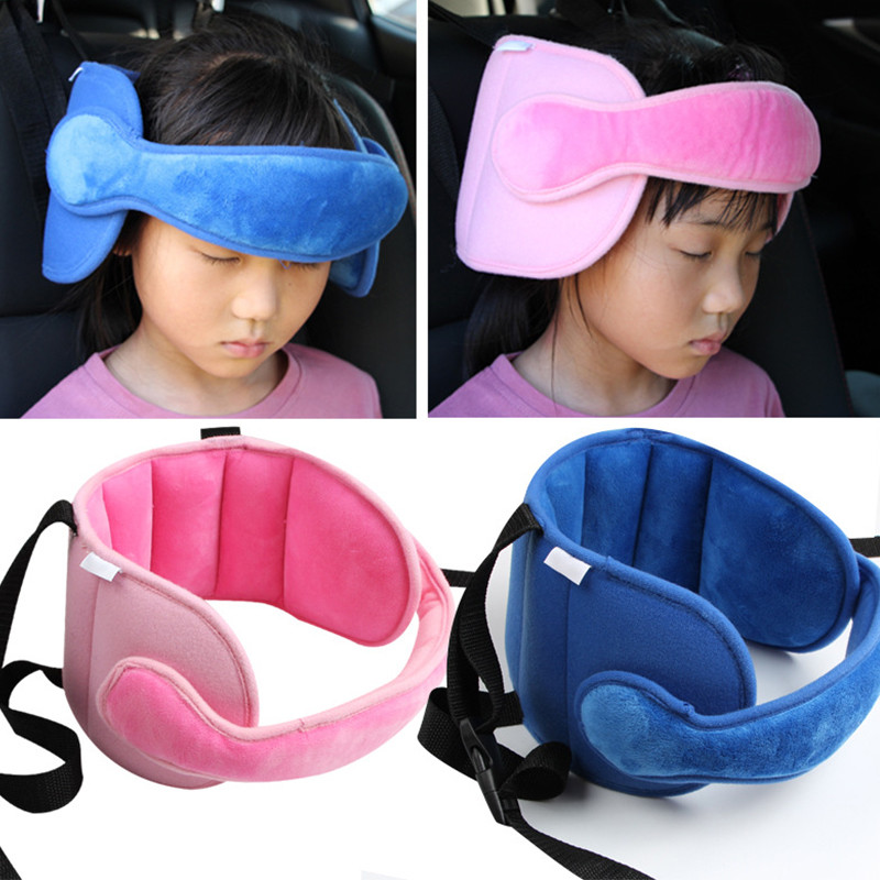 Baby Kids Adjustable Safety Car Seat pillow Head Support Fixed Soft Sleeping Pillows Neck Protection Headrest Sleep Positioners