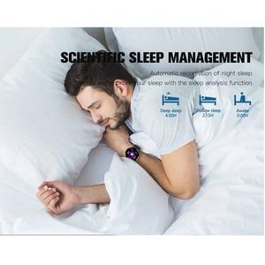 Image 5 - KAIHAI 스마트 워치 강화 유리 심박수 모니터 안드로이드 전화 IP67 방수에 대한 Smartwatch 음악 스톱워치 터치 스크린
