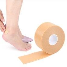 5 m comprimento pé impermeável calcanhar adesivo espuma fita resistente ao desgaste sapatos de salto alto remendo