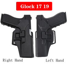 Tactical Left Right Hand Glock Gun Holster Belt Airsoft Hunting Pistol Case For 17 19 22 23 31 32