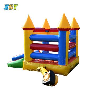 Wysokiej jakości małe skoki nadmuchiwane dmuchany zamek dmuchany zamek bramkarz nadmuchiwany zamek dzieci tanie i dobre opinie STELVIO CN (pochodzenie) Nadmuchiwana zjeżdżalnia 3 years old As the picture 3 5x3m Include 0 55mm PVC tarpaulin Indoor or outdoor