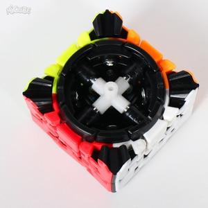 Image 3 - Yumo 3 × 3 ギアパズルツイストキューブ 3 × 3 × 3 ギア 3*3*3 プロゲームおもちゃ奇妙な形状