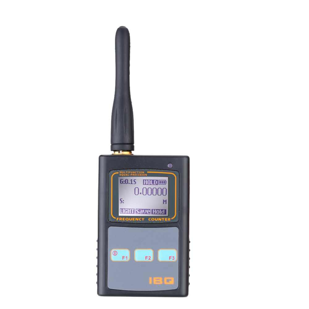 Handheld Digital LCD Frequency Counter with UHF <font><b>Antenna</b></font> <font><b>50MHz</b></font>-2.6GHz for Two Way Radio image