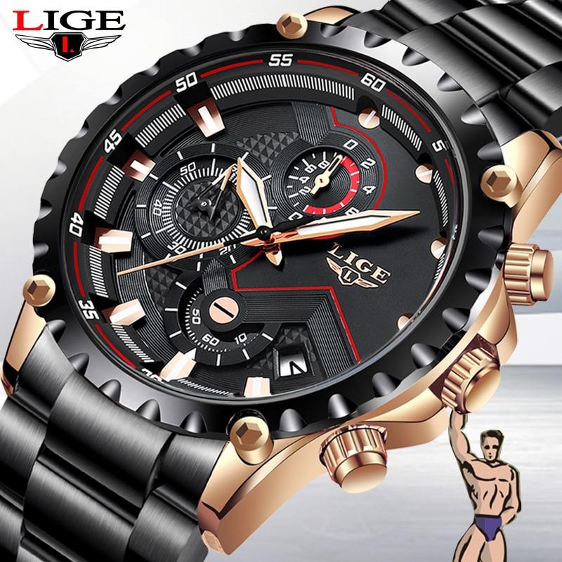 2019 New Mens Watches Top Brand Luxury Casual Fashion Watch Mens Military Sport Watch Waterproof Quartz Wristwatch Montre Homme
