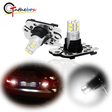 Gtinthebox Error Free PH16W PW16W 10 SMD LED Backup Reverse Light Bulbs For 11 13 BMW E92/E93 3 Series M3 , 10 up Audi A7 S7 RS7