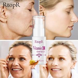Image 2 - Sérum à lacide hyaluronique vitamine c Anti vieillissement, rétrécit les pores, hydrate, contrôle du visage, huile, produit de soins pour la peau