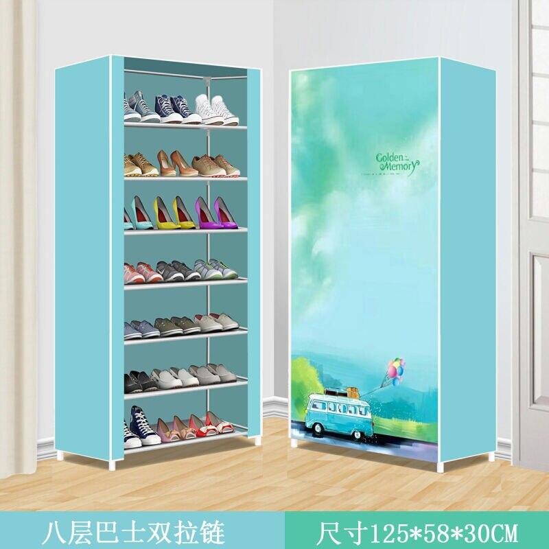 Hot Sale Multilayer Shoe Cabinets DIY Assembled Space-saving Shoe Organizer Shelf Home  Storage Closet Dust-proof Furniture