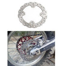 Motorcycle Rear Rotor Brake Disc For Honda  CR125 CRF250  CRF450 X 440 2003-and up front disc disk brake pump caliper for honda cr125 cr250 crf250 crf450 x r brake caliper with carbon fiber pads