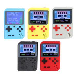 Image 2 - GC26ポータブルビデオゲームコンソール内蔵500クラシックゲームレトロハンドヘルドミニポケットゲームプレーヤーのギフトノスタルジックな再生
