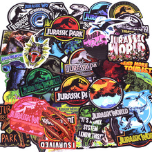 75Pcs Dinosaur JDM VSCO Sticker for Jurassic Park Graffiti Sticker for Luggage Laptop Moto Skateboard Kids DIY Toy