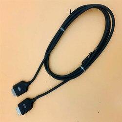 Oryginalny do Samsung BN39 01620A skrzynka zaciskowa zintegrowany box przewód łączący kabel linii połączenia jeden podłączyć 5565JS9000 JS9500 w Kable flex do aparatu od Elektronika użytkowa na