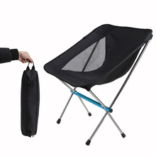 HooRu Portable Folding Chair Beach Camping Fishing Picnic Chair with Carry Bag Outdoor BBQ Lightweight Furniture Seat for Travel