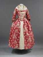 Revolution Georgian era Victorian Ball Gown/Vintage Costume/Event Dress 18th century colonial rococo dress costume british gown