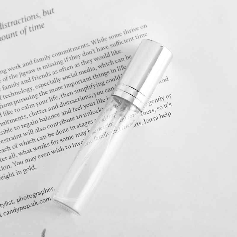 amostra mini garrafa parfum maquiagem containrs