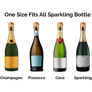 Bar Tools Champagne Stopper Sealing Bottle Cap Wine Beer Bottle Cork Plug Wine Bottle Stopper Sparkling Stainless Steel