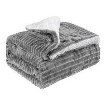 150x120 см, теплое офисное одноцветное Двухслойное шелковое супер мягкое двустороннее зимнее фланелевое одеяло для спальни, дивана, постельных принадлежностей