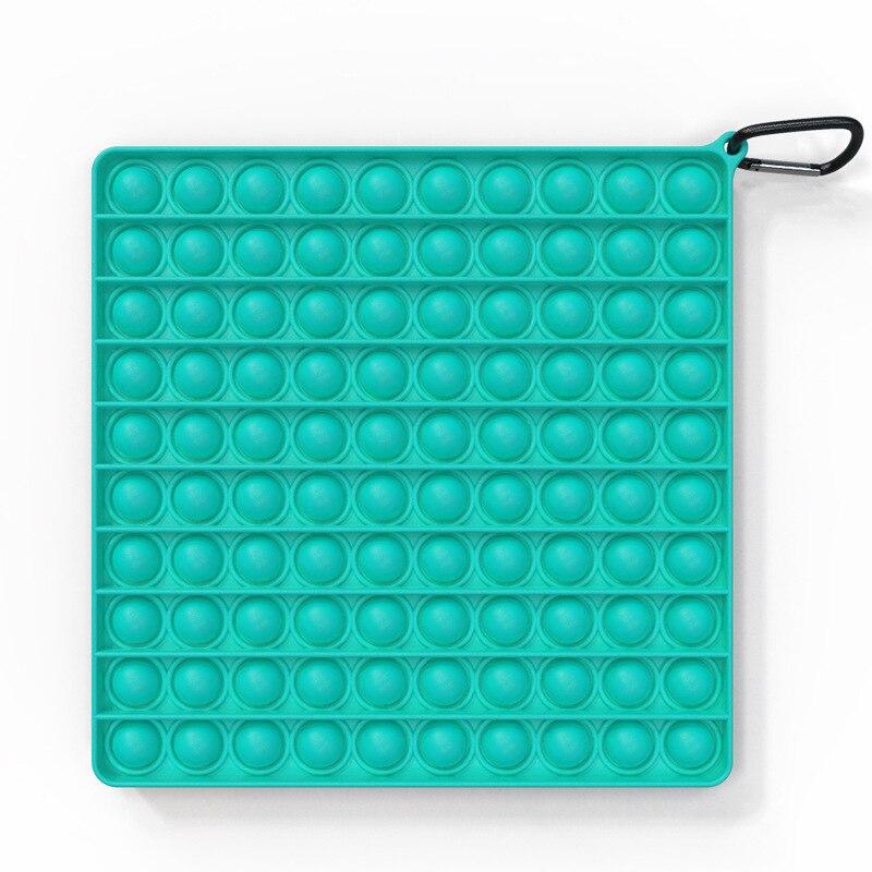 Fidget-Toys Antistress-Toy Bubble Square Figet Squishy Sensory Rainbow-Push Popsits Big-Size img4