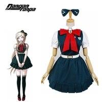 Danganronpa The End of Anime Cartoon Cos Sonia Nevermind Cosplay Woman Japanese Lolita Halloween Dress Costume