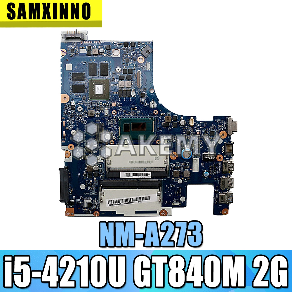 G50-70M For <font><b>Lenovo</b></font> G50-<font><b>70</b></font> <font><b>Z50</b></font>-<font><b>70</b></font> i5 CPU <font><b>motherboard</b></font> ACLUA/ACLUB NM-A273 Rev1.0 with GT840M graphics card Test image