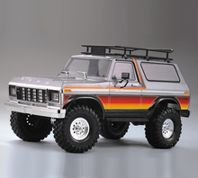 313mm dingil mesafesi sert plastik gövde araba kabuk demonte kiti Traxxas TRX4 ford Bronco eksenel SCX10 90046 RC paletli araba parçaları