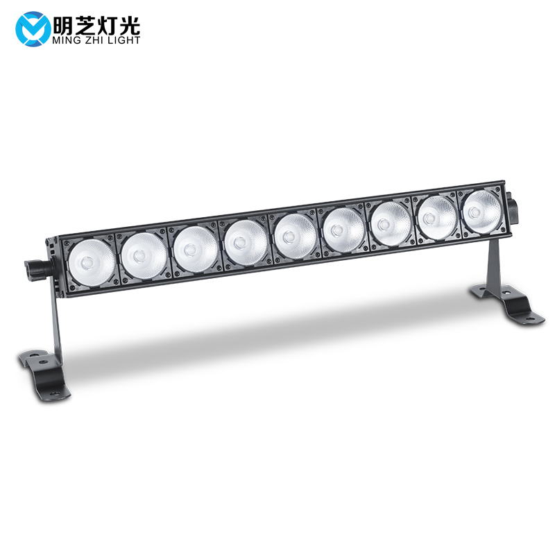 Mingzhi Stage Cob Bar Light Strip Wash 9x8w COB LED Matrix Blinder Light RGB Matrix DMX DJ Disco Lighting