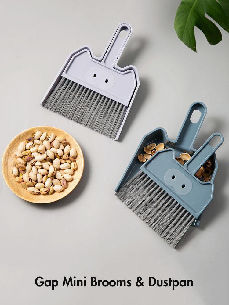 Mini Broom Dustpan Set Household Cleaning Bed Desktop Cleaning Artifact Small Number Broom Set Combination