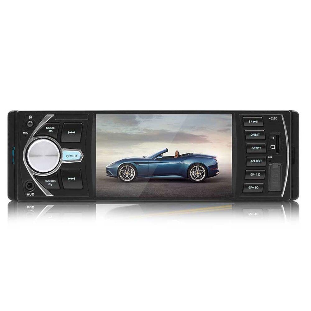 Vehemo 4.1 pouces Auto MP5 lecteur voiture Bluetooth MP5 MP3 volant télécommande vue arrière automobile FM Radio - 6