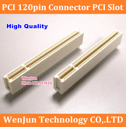 High Quality New PCI Slot PCI 120pin Socket Straight 120-pin PCI Connector
