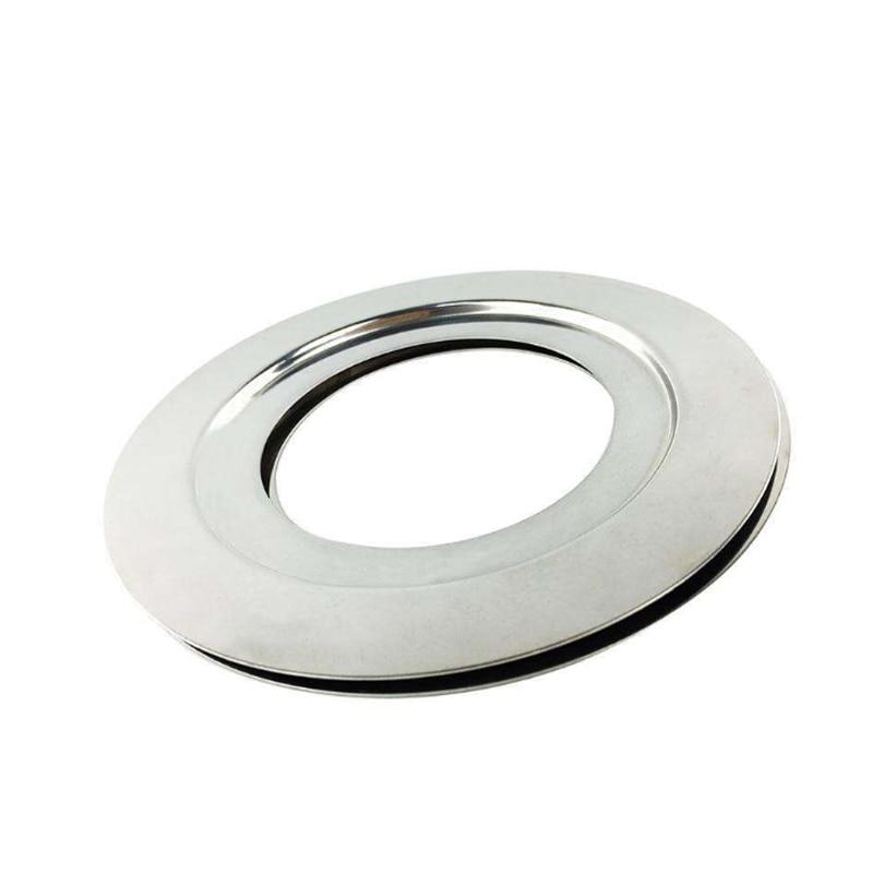 JIQI 370 Вт/560 Вт аксессуары для измельчителя мусора 140/160/180 мм адаптер из нержавеющей стали кольцо для замены диаметра 2