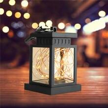 Светодиодный садовый фонарь на солнечной батарее декоративное