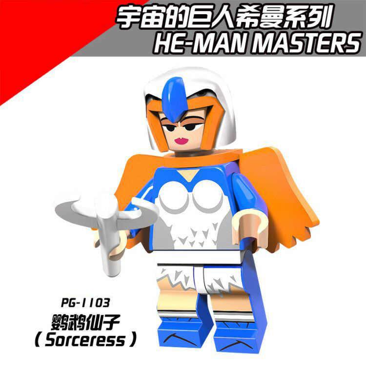 PG8089 Abbinato Legoing Originale Anime Cosmicgianting Marinaio Serie con Tre Occhi Mostro Serpente a Sonagli Zodak Re di Scheletro Assemblare