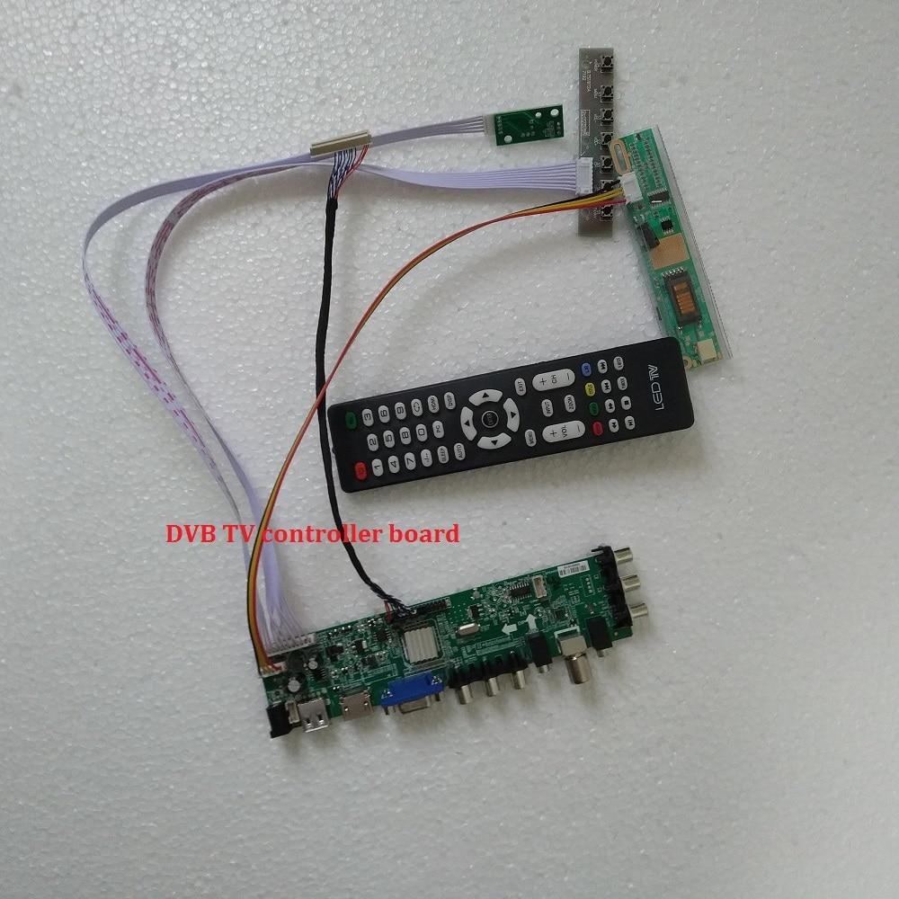 DVB-C DVB-T DVB-T2 LCD TV Controller Driver Board for B154EW01 B154EW02 1280x800
