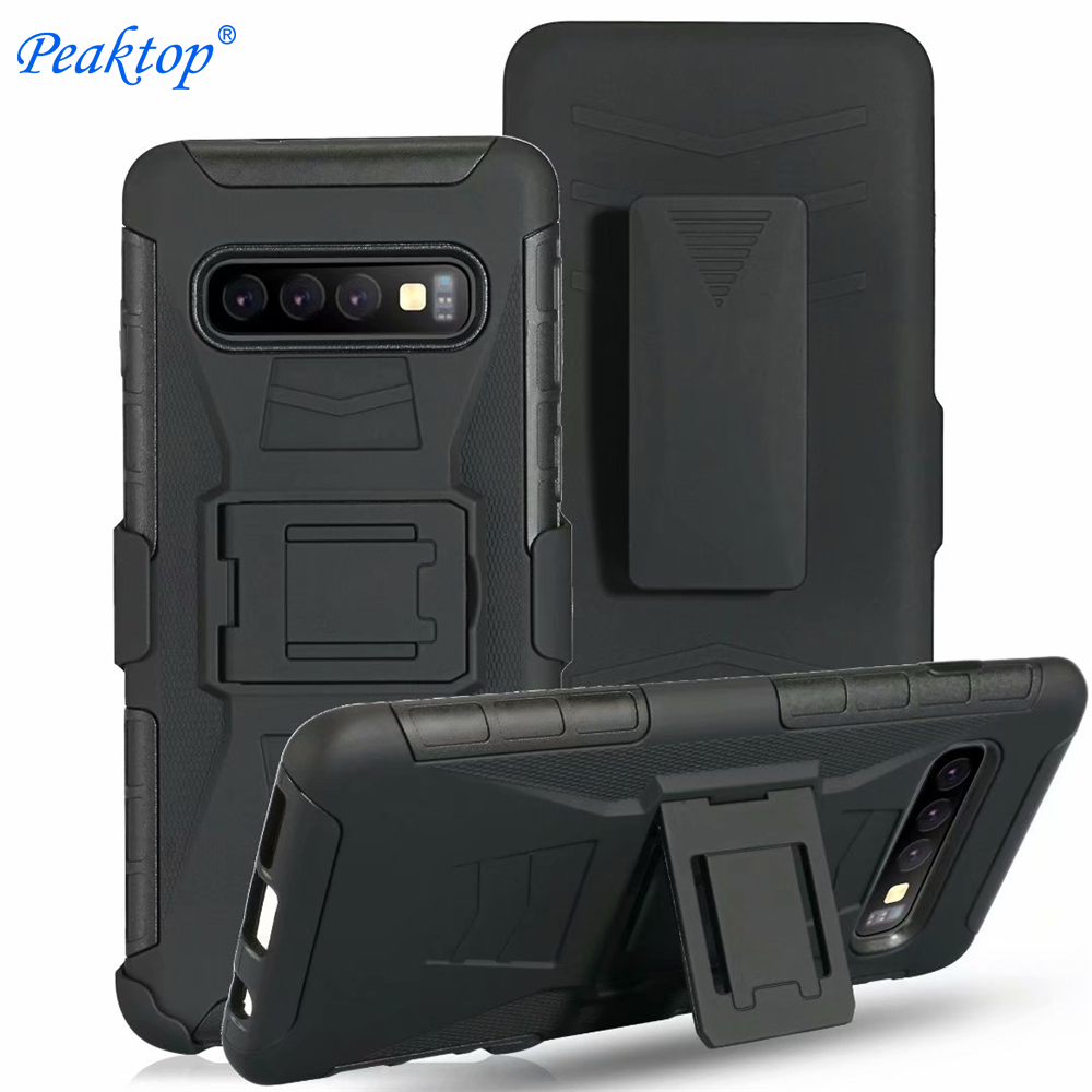 Armor-Case Belt-Clip Shockproof-Cover S7-Edge Heavy-Duty Samsung Galaxy Note-5 S10 Plus