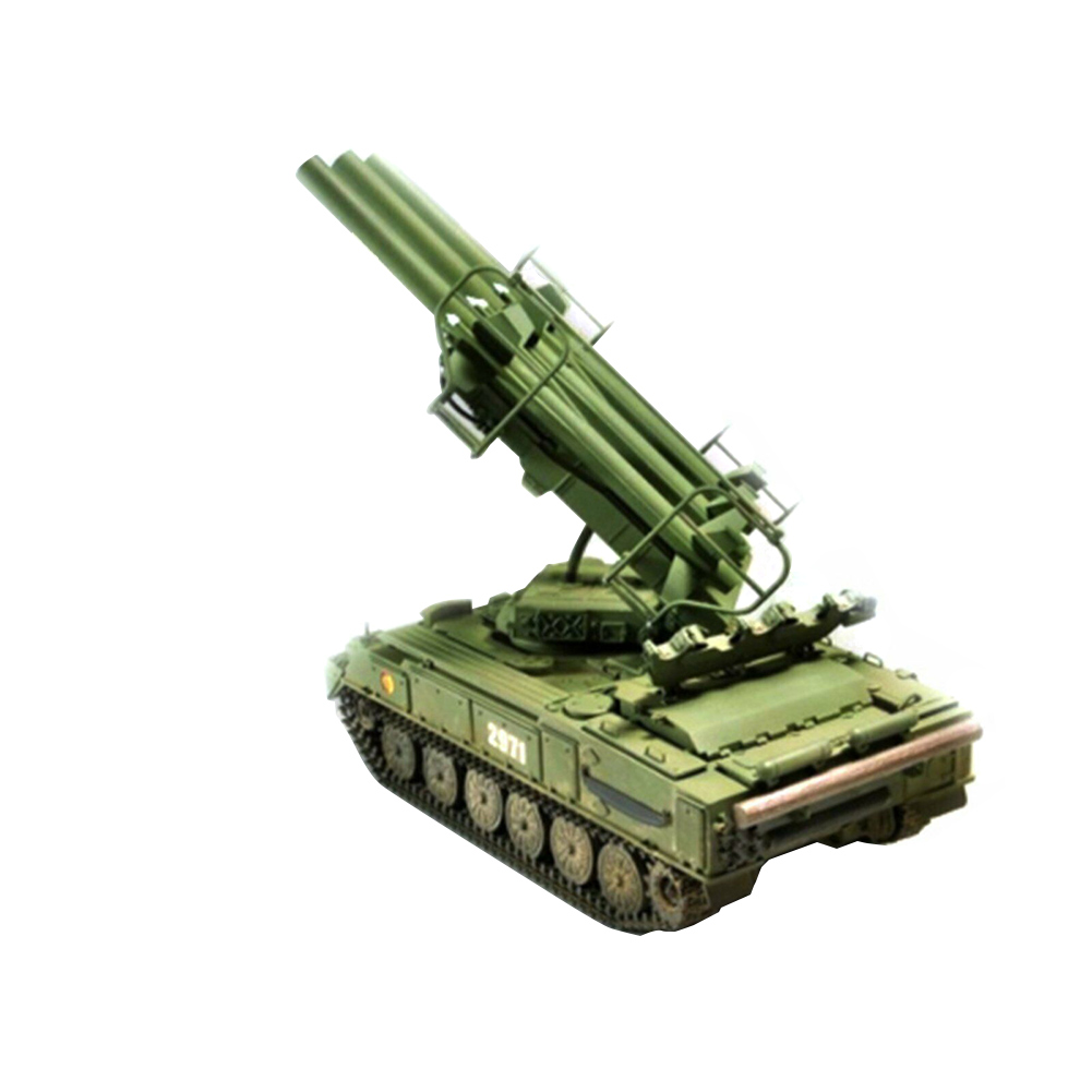 1:35 Decoration Simulation Training DIY Tank Toys Russian Military Plastic <font><b>Trumpeter</b></font> Durable Antiaircraft Missile Model Kit image