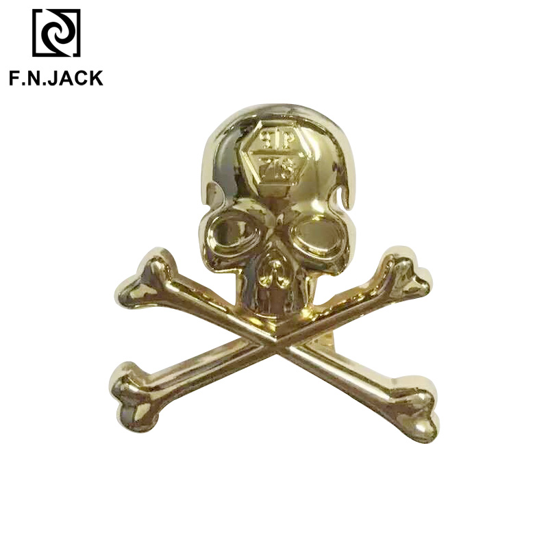 Men's Belt Buckles New Arrival Skull Metal Accessories For Belts 2019 Cool Designed Buckle Three Colors Available
