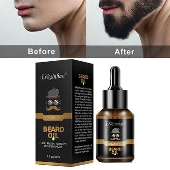 Top 30ml Pro Men Beard Growth Enhancer Liquid Facial Nutrition Moustache Grow Beard Shaping Tool Beard Oil 1