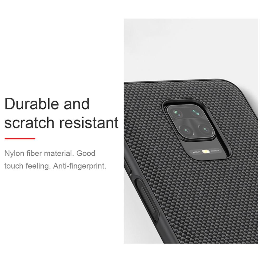 For Xiaomi Redmi Note 9/ 9 Pro Max back cover NILLKIN 3D textured case soft TPU edge Protective case For Redmi Note 9 Pro/9S