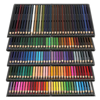цена на Professional 120/160 Colors Oil Color Pencils Set Artist Painting Watercolor Drawing Pencil Set School Art Supplies Draw Gift